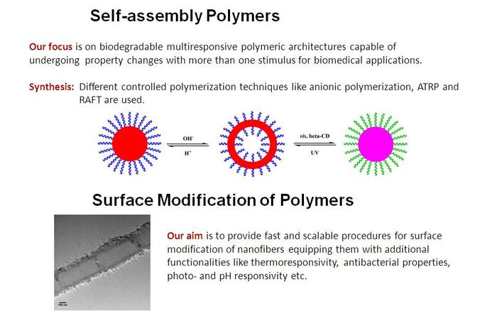 Self-Assembly Polymers and Smart Surfaces